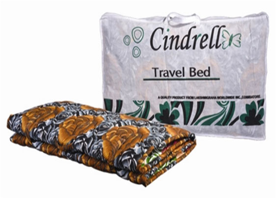 Cindrell Foam Travel Bed